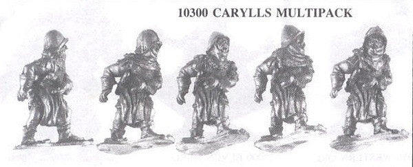 10300 Soldiers of Carylls (5 Different Miniatures)