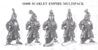 10400 Scarlet Empire Soldiers (5 Different Miniatures)