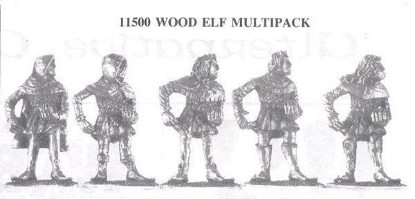 11500 Wood Elves (5 Different Miniatures)