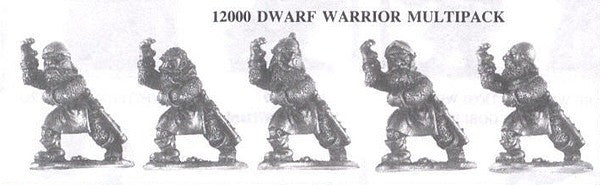 12000 Dwarf Warriors (5 Different Miniatures)