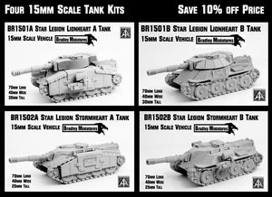 BR1500 Star Legion Four Tank bundle - Save 10%
