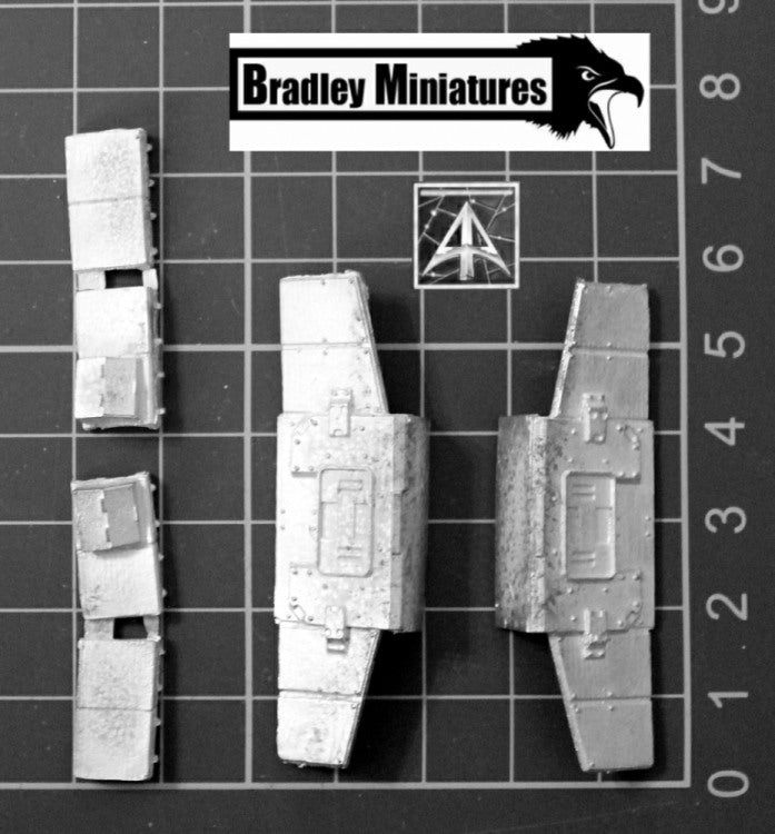 BR1503 Star Legion Tank Space Armour Skirts