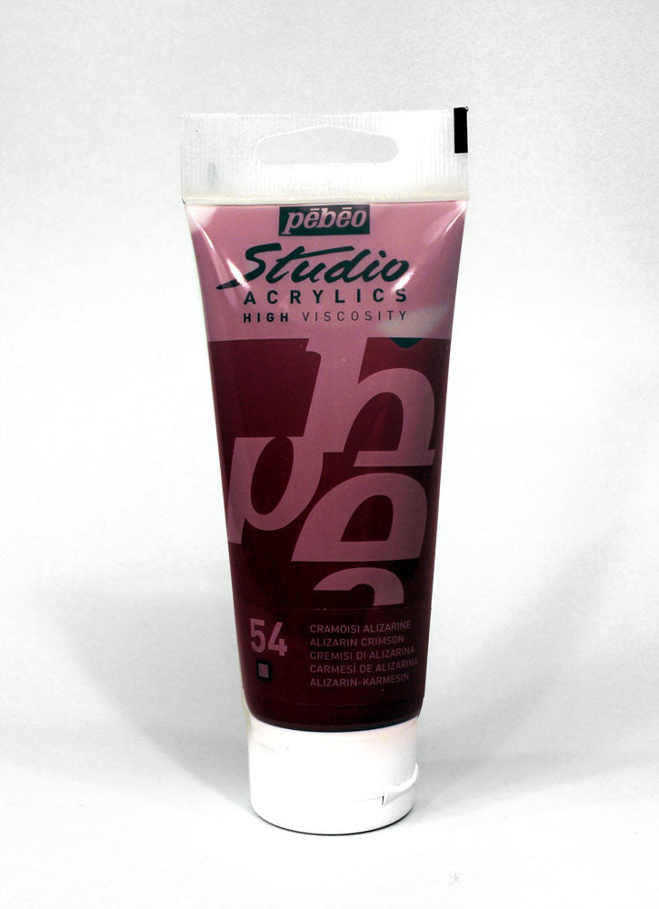 831054 ALISARAN CRIMSON 100ML ACRYLIC PAINT