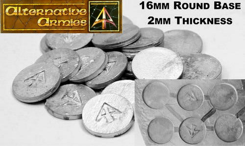 LBA2 16mm Round Bases - Buy More and Save More