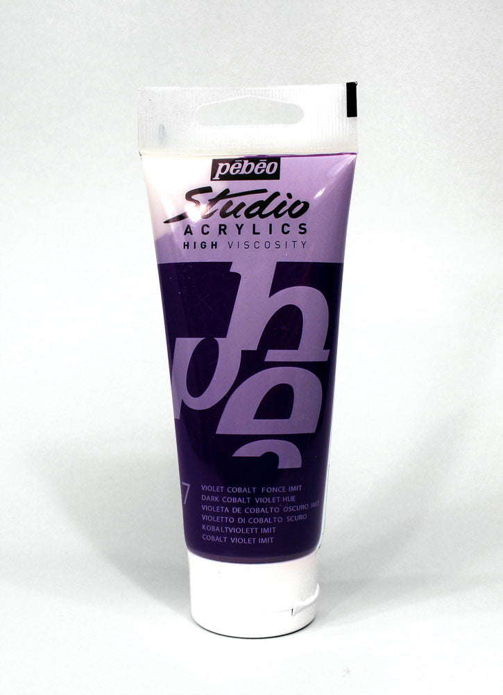 831047 DARK COBALT VIOLET HUE 100ML ACRYLIC PAINT