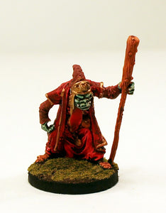 24910 Western Orc Wizard-Pro-Painted Fantasy Warlord Miniature-Ready to Ship