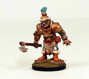 26000 Ogre Hero-with Big Axe-28mm Scale Pro-Painted Fantasy Warlord Miniature-Ready to Ship