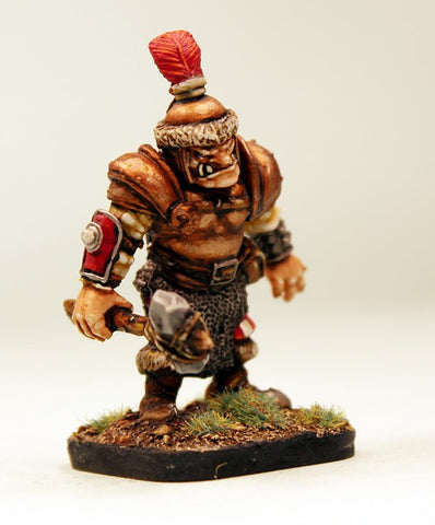 16100 Ogres (2 Different Miniatures with Weapons)