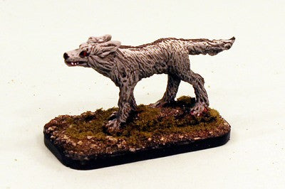 28mm Fantasy Direwolf Pro-Painted 1 Miniature