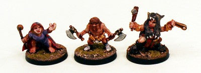 28mm CA2 Halfling Walking Party-Pro-Painted 6 Miniatures Set