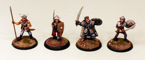 OH19 Hob Goblin Khan-Pro-Painted Set of 4 Miniatures-Ready to Ship