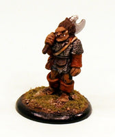 28mm Fantasy Classic Ogre-The Woodcutter-Pro-Painted Miniature