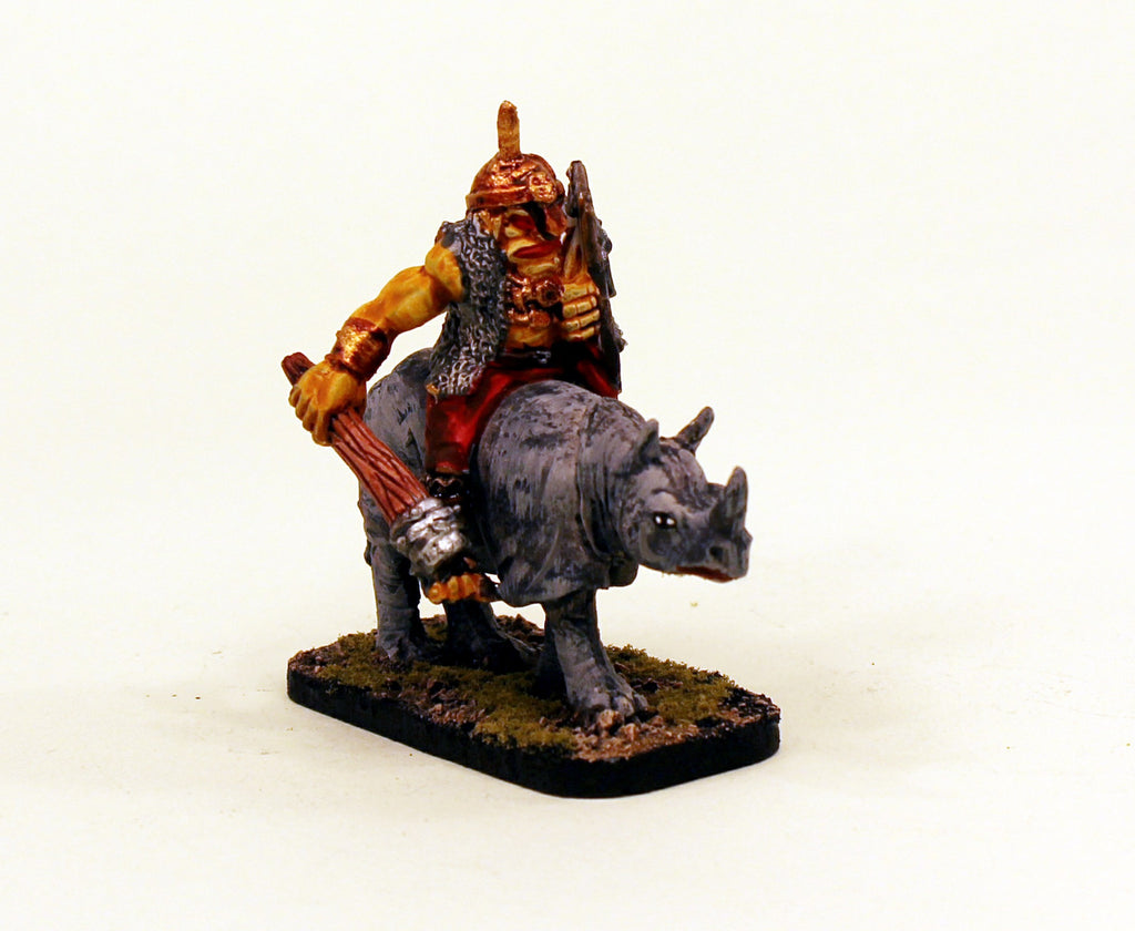 28mm VNT19 Pro-Painted Classic Fantasy Monster Ogre Cavalry II