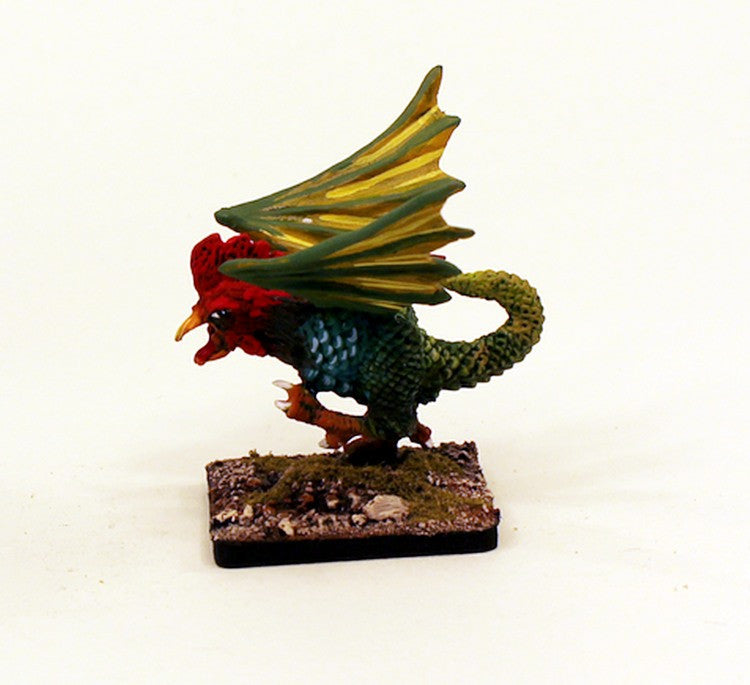 28mm Fantasy Classic Monster-VNT26 Cockatrice Pro-Painted 1 Miniature