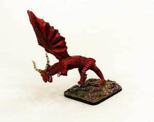 HOT37 Destroyer of Hope Grand Dragon-Pro-Painted Multi-Scale Red Dragon