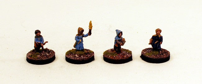 28mm Gnomes of the Gnomish Legion (DH2) Pro-Painted 4 Miniatures Set