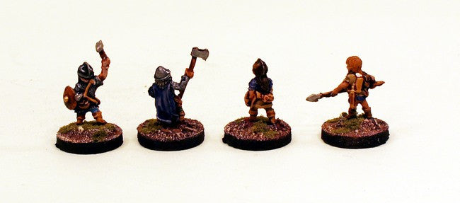 28mm Halflings of the Gnomish Legion (DH2) Pro-Painted 4 Miniatures Set
