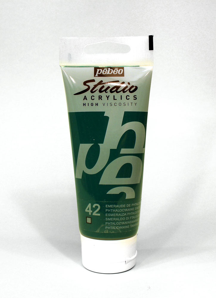 831042 PHTHALOCYANINE GREEN 100ML ACRYLIC PAINT