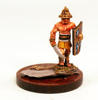 40mm Scale White Metal Gladiator-Pro-Painted-Ready to ship