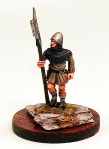 40mm Scale White Metal Medieval Soldier-Pro-Painted-Ready to ship