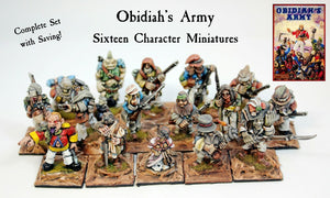 5006 Obidiah's Army Complete Set of Sixteen (Save 10%)