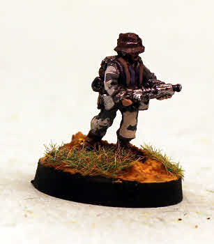 501 Mercenary with Assault Rifle