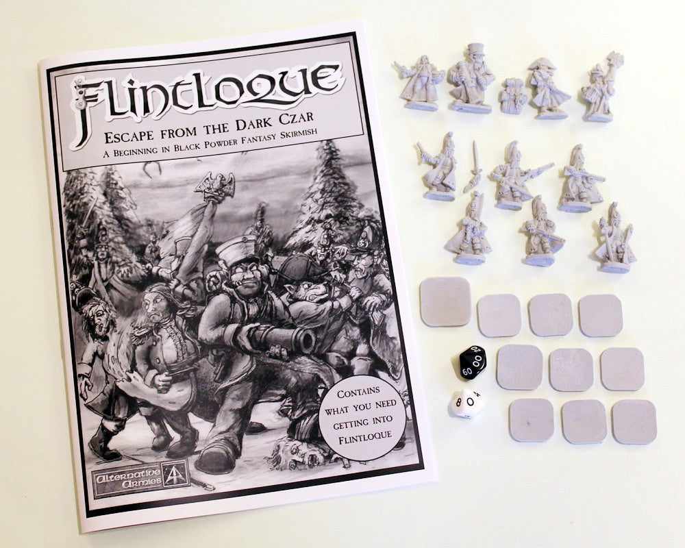 5024 Escape from the Dark Czar - Flintloque Beginners Set