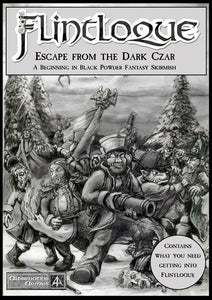 5024 Escape from the Dark Czar - Game Booklet