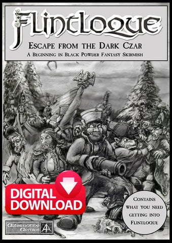 5024 Escape from the Dark Czar - Flintloque Beginners Boxed Set