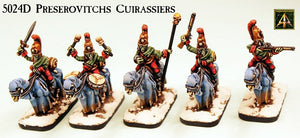 5024D Preserovitchs Cuirassiers on Undead Horses