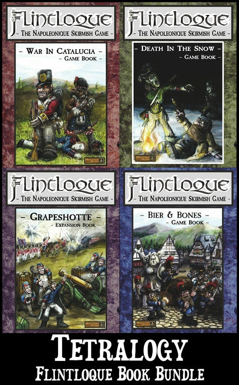 5025T Flintloque Four Book Tetralogy bundle - Save 10%