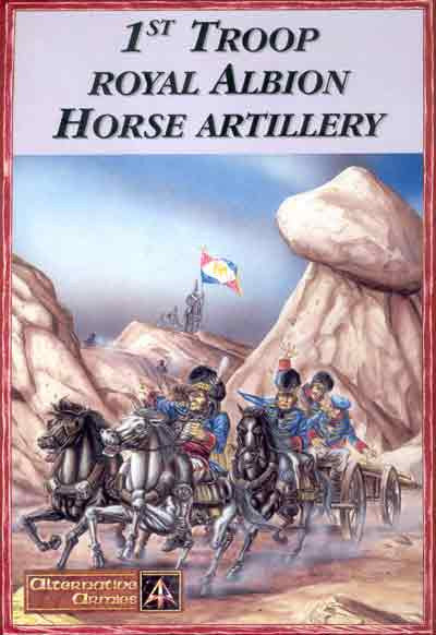5100 1st Royal Albion Horse Artillery box set