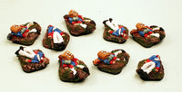 51030 Elf Casualties-9 Dead Elf Miniatures: Pro-Painted & Ready to Ship