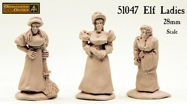 51047 Elf Ladies (three pack) now in resin with reduced price