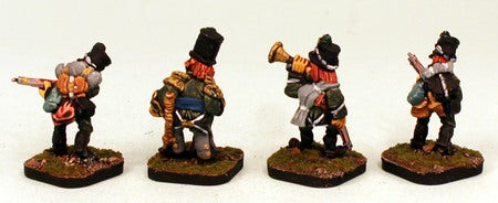 5104-105th Foot 'The Rifles' Box Set-Pro-Painted-18 Miniatures-Ready to Ship