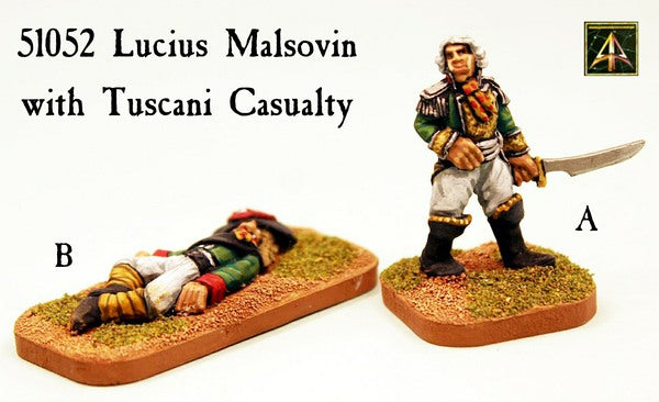 51052 Lucius Malsovin with Tuscani Casualty