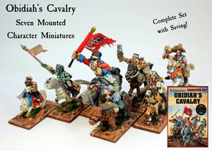 5108 Obidiah's Cavalry Complete Set of Seven (Save 10%)