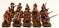 51505-U Dark Elf Guerrillas Unit of 20 Pro-Painted Miniatures & Ready to Ship