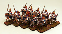 51506-U Elf Cuirassiers Unit of 10 Pro-Painted Cavalry Miniatures: Ready to Ship