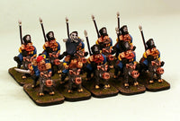 52501-U Krautian Uhlan Lancers-Pro-Painted Set of 10 Dwarf Cavalry: Ready to Ship