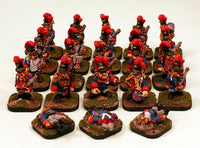 52512-U Finklestein Dwarf Line Infantry Pro-Painted Unit: 20 Dwarf Miniatures with 3 FREE Casualties: Ready to Ship