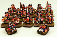 52514-U Von Rotte Line-Pro-Painted Unit of 20 Dwarf Infantry plus 2 Free Casualties-Ready to Ship