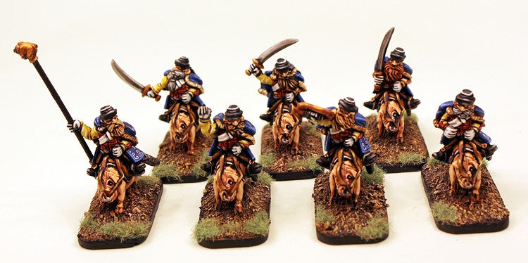 52520 Von Rotte Hussar Unit (10 Mounted Dwarves)