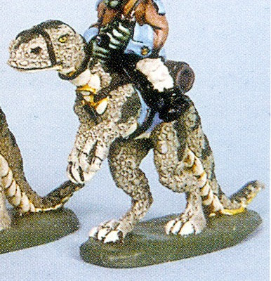 53501L Big Riding Lizard 28mm scale for most riders