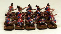 53502-U Goblin Line Infantry-Pro-Painted Unit of 20 Goblin Infantry 22nd Regiment (Red Cuffs): Ready to Ship