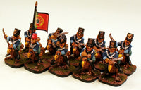 53507-U 4th Al-Garvey Dragoons on Dodos Unit of 10 Pro-Painted Miniatures: Ready to Ship