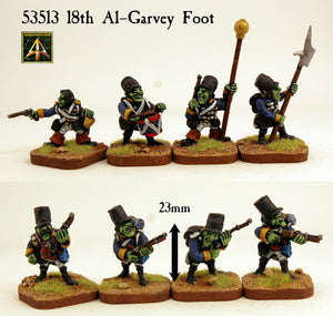 53513 18th Al-Garvey Foot