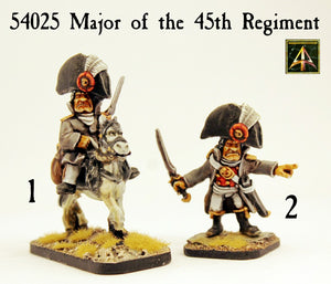 54025 Major of the 45th Regiment