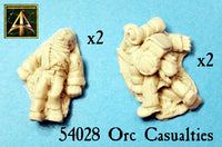 54028 Orc Casualties now in resin with lower price!