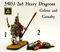 54053 2nd Heavy Dragoons Colour and Casualty